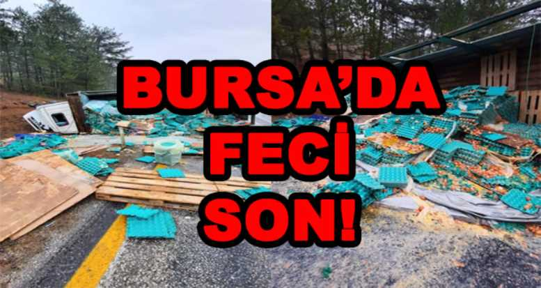 BURSA'DA FECİ SON!